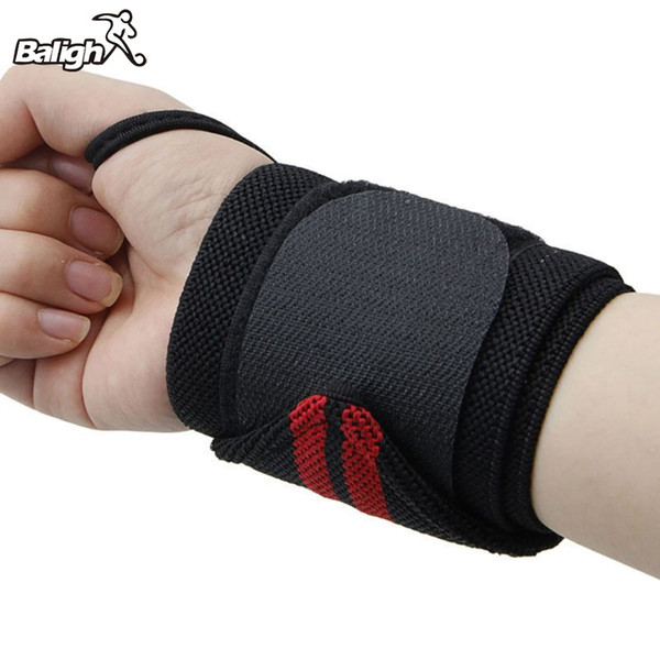 1Pcs Hand Wraps Wrist Strap Weight Lifting Wrist Wraps Powerlifting Bodybuilding Breathable Support Train #339993