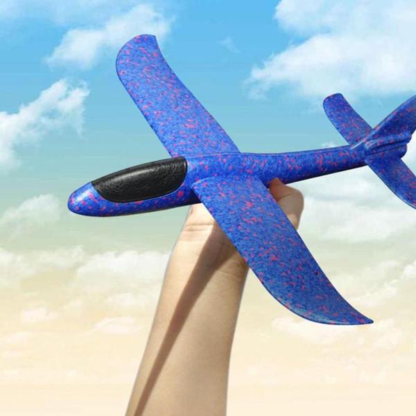 DIY 어린이 장난감 손 어린이 항공기 용 거품 비행기 비행기 모델 파티 필러 비행 글라이더 장난감을 비행 글라이더 비행기를 던져