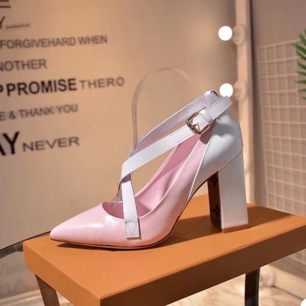 2019 moda donna di lusso designer scarpe tacchi alti donne sandali scarpe vintage sandalo stella con formato della scatola 35-41 -51