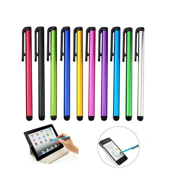 Prezzo di fabbrica E418 10 pz Capacitivo touch screen penna stilo per ipad mini 2 3 4 per iphone 4 s 5 6 7 samsung universale tablet pc smart phone