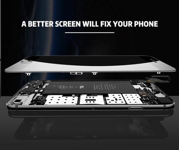 Nova grade de um +++ display lcd para iphone 6 touch digitador tela completa com o quadro assembléia completa substituição para iphone 6 plus dhlfree
