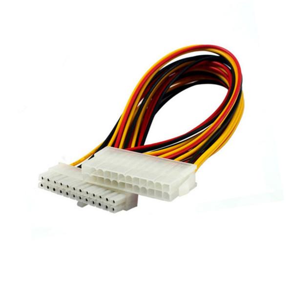 ATX 24Pin Motherboard Power Verlängerungskabel 18AWG 24Pin Verlängerungskabel für Wasserkühlungscomputer FMATX24P-C