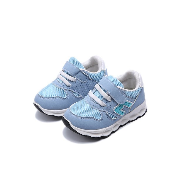 2018 Hot Sales New Kids Boys Girls Sport Shoes Fashion Baby Shoes Casual Breathable For Boys Child Sneakers High Quality