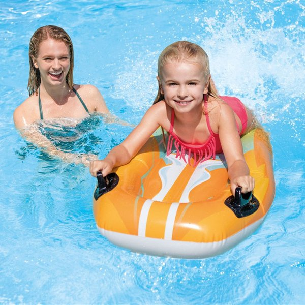 2019 Children Surfboard Water Deck Chair Floating Mat Water Lounger Hammock  Pool Float Inflatable Rafts Air Lightweight Floating Chair Portable From ...