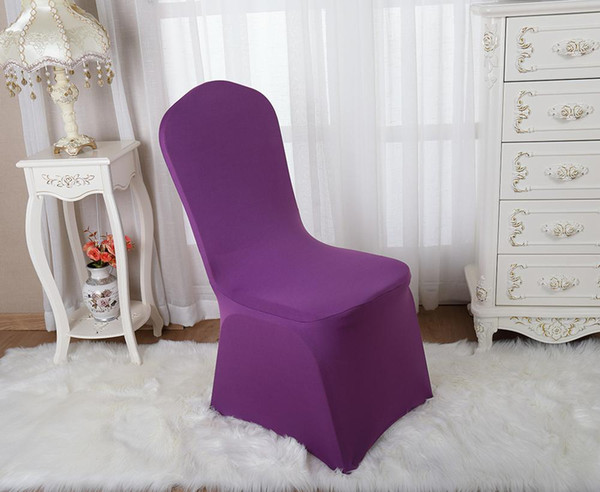 solid color chair cover stretch chair cover big elastic seat chair covers painting slipcovers restaurant banquet l home decoration