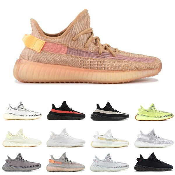 Wave Runner 2020 Mauve Vanta Inertia Solid Grey White woman Mens Running Shoes V2 Static 3M Blue Kanye West Shoes Sport Sneakers