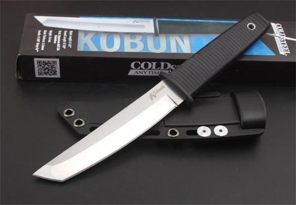 Kaltes Stahl Samurai-Schwert Tanto Überleben Taktisches Gerade Messer 5CR15 Edelstahl ABS Griff Jagd Dolch Mit Originalverpackung