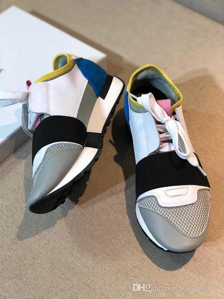 2019 FW Retro Triple S Sneaker Moda uomo Vintage Kanye West Old Grandpa Trainers Designer Uomo Donna Scarpe casual 35-45