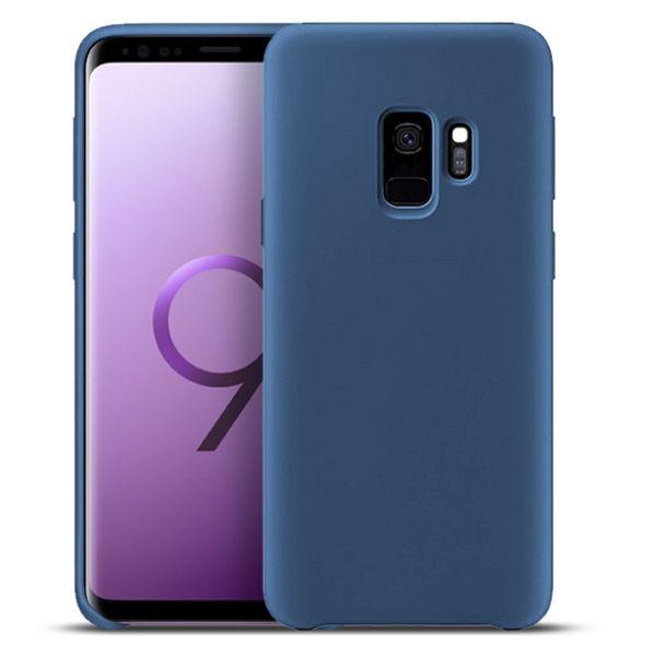 Liquid Silicone Soft Case for Samsung Galaxy A50 A40 A60 A70 J4 Core A20 A30 J2 M10 A10 M20 M30 Cover Microfiber Lining