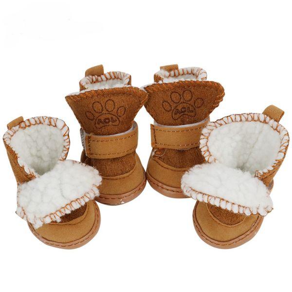 Slip Chiens De Chaud Chiot Animaux Hiver Pour Chaussures Chien Compagnie Anti Acheter tQdrsCh
