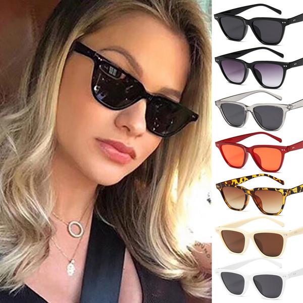 Hot Sale Women Sunglasses Brand Designer Vintage Feminino Glasses Sexy Retro Oversized Sun Glasses Female Eyewear UV400