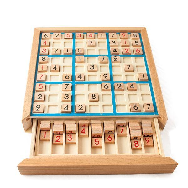 Wooden Sudoku Ninegongge Game Chess Adult Logic Thinking Children Yizhi Ninegongge Puzzle Class Fun Table Tour Toys