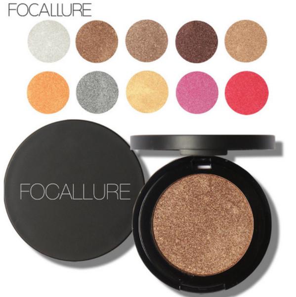 100pcs Focallure Professional palette de fard à paupières nude maquillage mat palette de fards à paupières gril Make Up Glitter fard à paupières