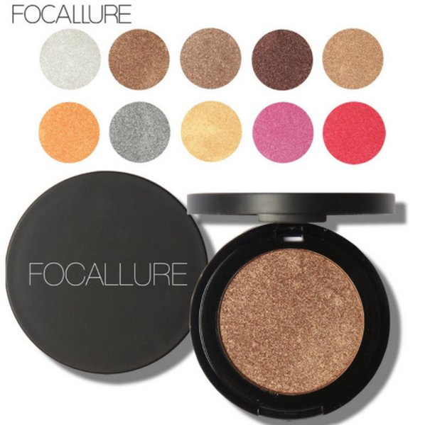 100 piezas de paleta de sombra de ojos Desnuda profesional Focallure maquillaje paleta de sombra de ojos mate sombra de ojos Make Up Glitter