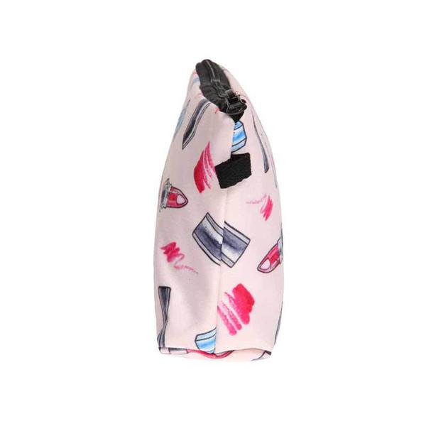2019 modèles de rouge à lèvres cosmétiques imprimés sac de voyage voyage lavage sac à main sac à main portable