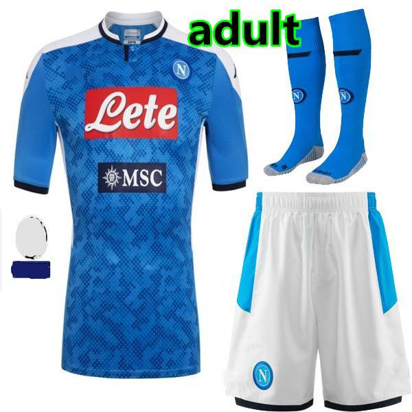 Accueil 19/20 kit adulte + ucl Patch