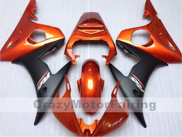 3Gifts Новый ABS литье пластиковых обтекателей мотоцикла, пригодных для YAMAHA YZF-R6-600 2003-2005 03 04 05 Обтекатель кузова комплект пользовательских оранжевый приятно