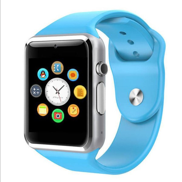A1/W8 smart phone watch touch screen card card Bluetooth multi-lingual country Bluetooth fashion watch