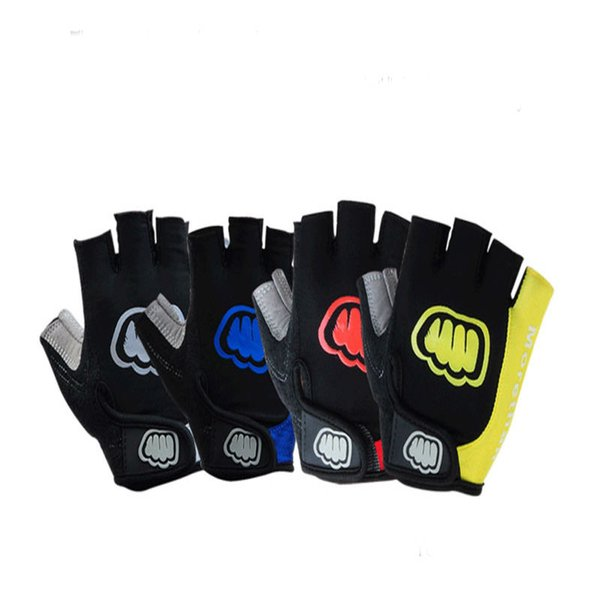 Factory direct sales Breathable Half finger SBR downhill bike cycling bicycle gloves for man and women