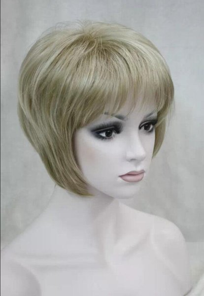 WIG LL NEW STYLE Free Shipping >>>>>New ladies wig women Blonde Natural Hair Women's Wigs