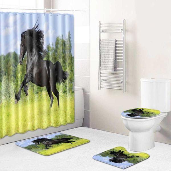 Shower Curtain 4pcs 2 CHINA 45x75CM