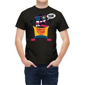 Tişört Karikatür RoHip hop Yıldızı Fan T254ZE