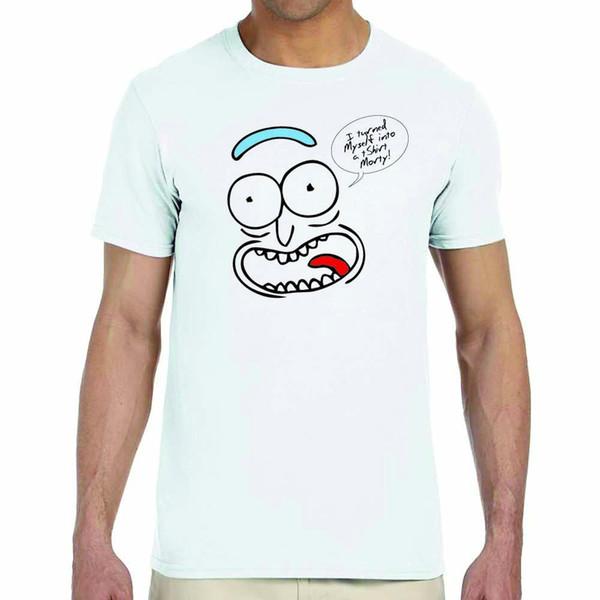 T Rick Rick e Morty T-shirt Rick Branco