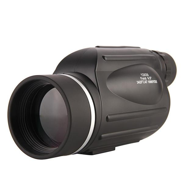 13X50 Single Tube Hd Telescope Waterproof Big Eyepiece Rangefinder Binoculars With Sub-Line Measuring Phone Camera