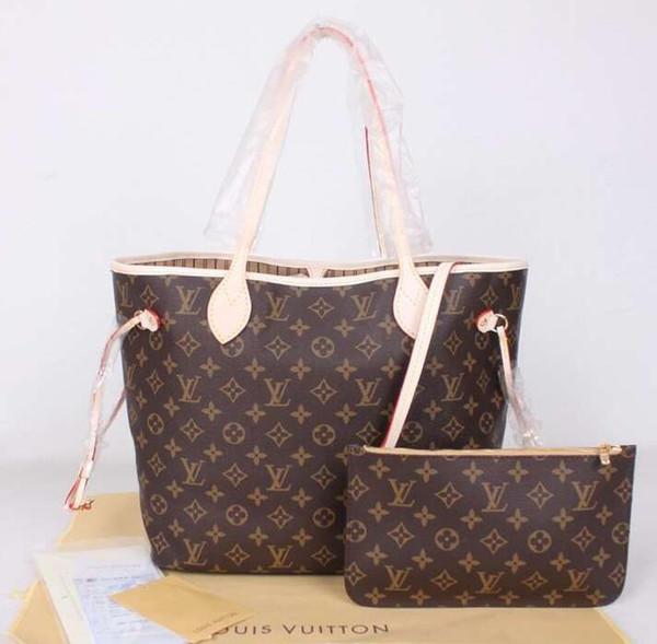 best selling 2 PCS Women Bags Set Leather Handbag XXLLouisVuitton Women Tote Bag Ladies Handbags Shoulder Bag for Women Luxury Messenger Bags
