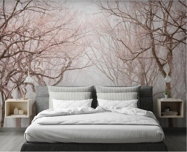 Großhandel Schöne Holz Hintergrund Tapeten Wandbild 3d Tapete Für  Wohnzimmer Von Yiwuwallpaper1688, $32.17 Auf De.Dhgate.Com | Dhgate