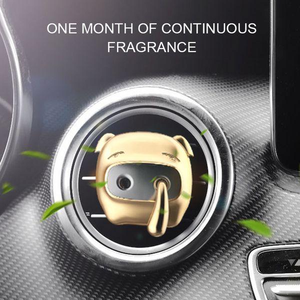 Cute Snot Pig Автомобиль для укладки парфюмерии Освежитель воздуха Автоматическая розетка Вентиляция в автомобиле Кондиционер Клип Очиститель Диффузор Украшения