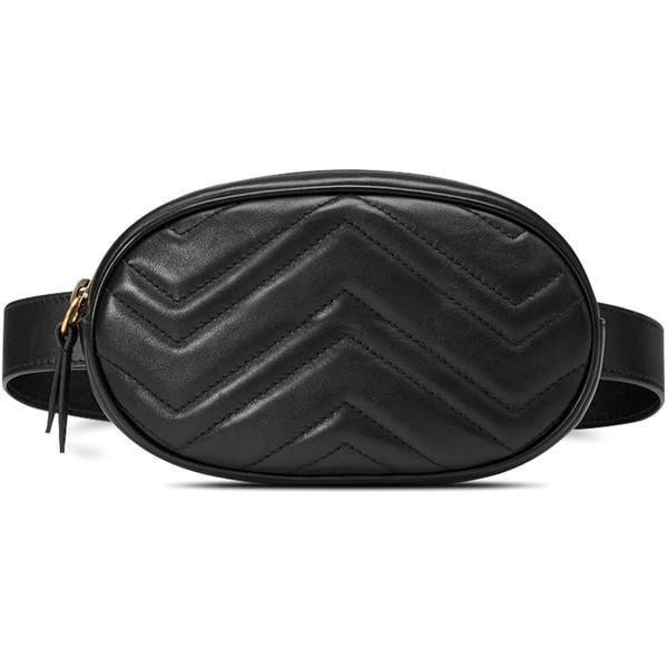 Sac de designer en peau de mouton taille femmes FannyPack sacs femmes argent téléphone taille sac à main solide voyage ceinture sac venir avec sac cadeau