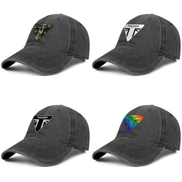 Mens Womens Hat Triumph-Logo Snapback Hats Cool Denim Cap Casual Caps