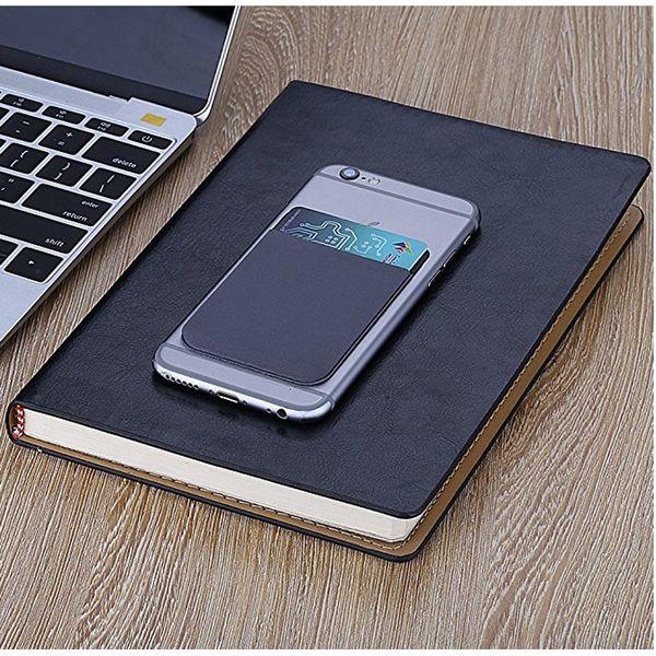 Personnaliser en gros Personnaliser Logo Téléphone Mobile Pocket Anti-rayonnement Mobile Téléphone 3M Retour Autocollants Fente Pour Carte Smartphone