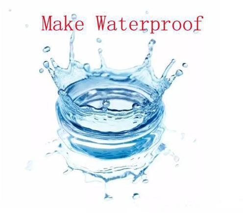 make waterproof