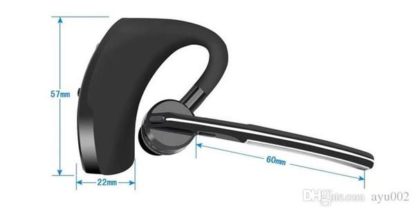 Auriculares bluetooth inalámbricos simples, auriculares estéreo duales con un solo control de terminal, funcionan con auriculares deportivos