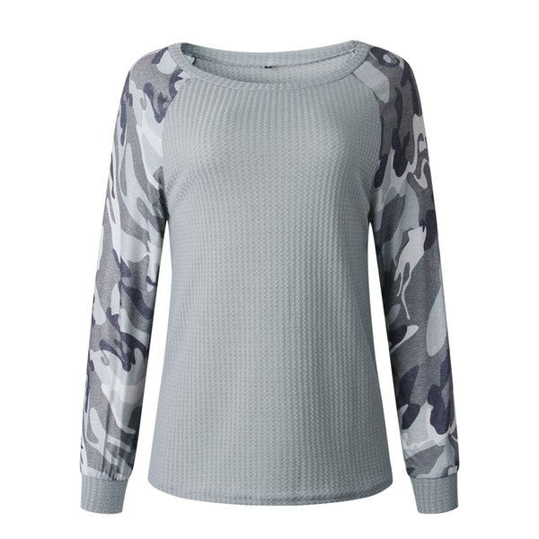 3 color 2019 autumn and winter fashion printing camo long sleeve women's coat vests 101302 wt19 thumbnail