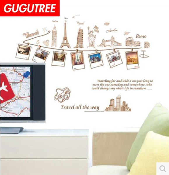 Decorate Home photo letter cartoon art wall sticker decoration Decals mural painting Removable Decor Wallpaper G-1714