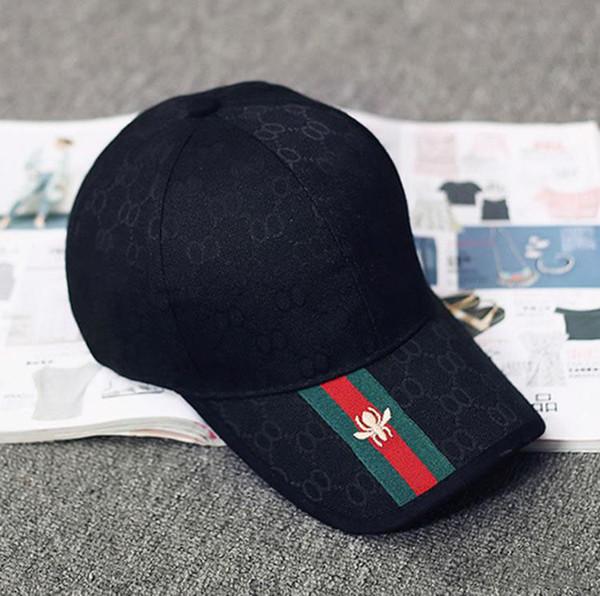 2019 Fashion Brand Snapback Caps 4 Colors Strapback Baseball Cap Boys Girls Hip-Hop Polo Hats For Men Women Fitted Hat Cheap Sports Cap