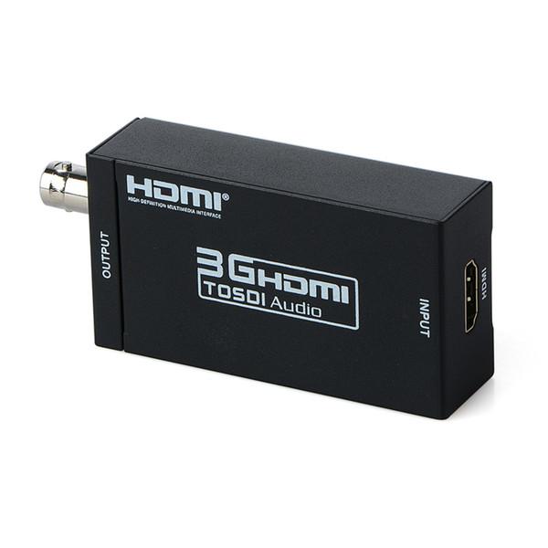 HDMI a SDI Convertidor Adaptador Escalador 1080P MINI 3G con salida de audio coaxial para cine en casa Cine PC HD