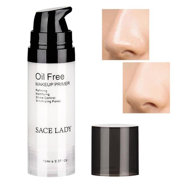Factory 15ML Face Makeup Primer Oil Free Control 100% Match Concealer Make Up Matte Base Foundation Primer No Pore Natural Moisturizer Gel
