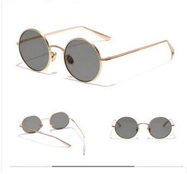 Роскошные мужчины и женщины солнцезащитные очки Мода овальные женщины солнцезащитные очки объектив покрытие зеркало объектив безрамное цвет покрытием рамка с случае ру