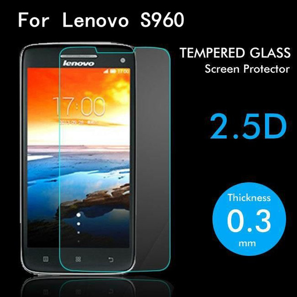 For Lenovo S960 Tempered Glass Original High Quality Protective Film Explosion-proof Screen Protector for Lenovo S960 cell phone