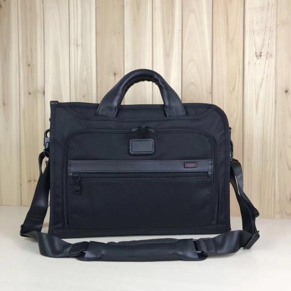 New TUMI / Ligando Series Mens Alpha / Womens Negócios Nylon portátil Briefcase Computer Bag dos homens / mulheres Bolsa 026110D