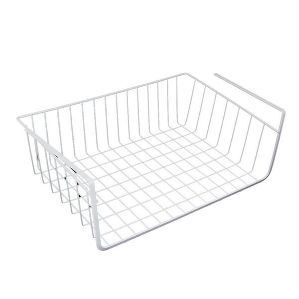 Meilleur espace de rangement sous le panier pour le placard de cuisine - blanc