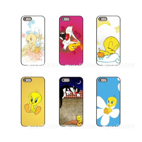Cartoon Anime Series Tweety Bird looney tunes Hard Phone Case Cover For Samsung Galaxy Note 3 4 5 8 S2 S3 S4 S5 MINI S6 S7 edge S8 S9 Plus