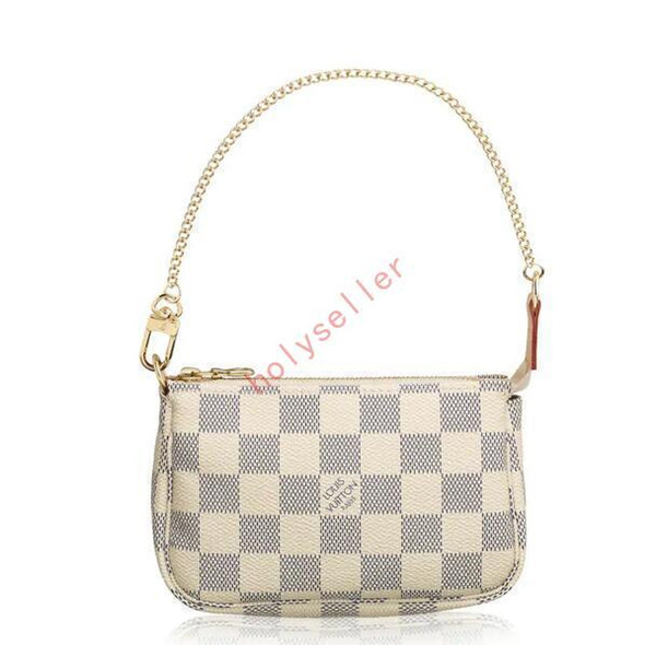 Mini Accessoires Pochette N58010 New Women Fashion Shows Exotic Leather Bags Iconic Bags Clutches Evening Chain Wallets Purse