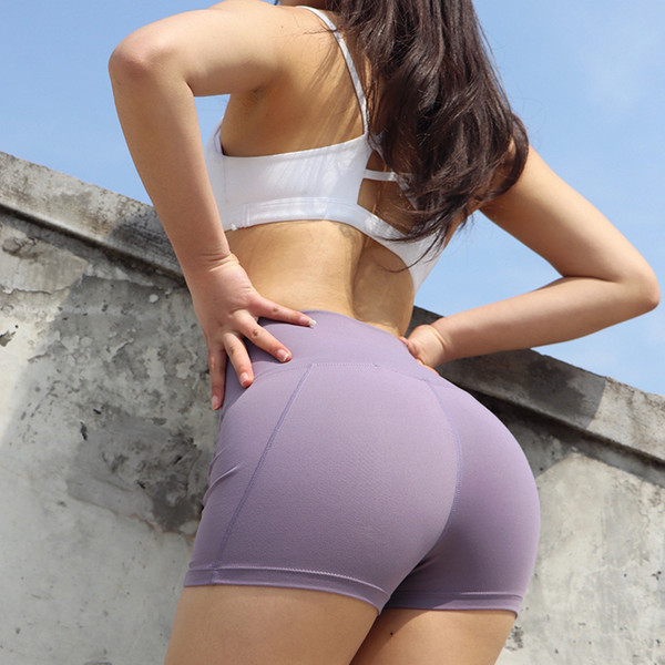 Summer Sexy Hip Lifting Shorts Fitness Yoga Workout Running Training Sports Shorts Women Tight Stretch High Waist Gymwear