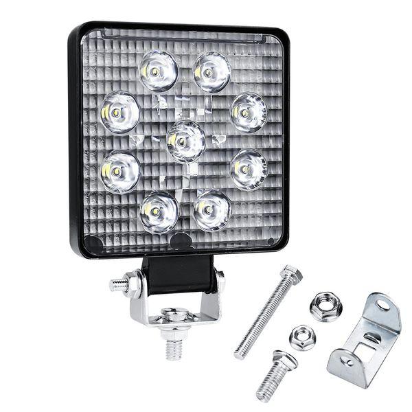 1 * 27W LED 일 빛 안개 홍수 램프 화이트를 들어 DC 12V 24V 트럭 오프로드 트랙터