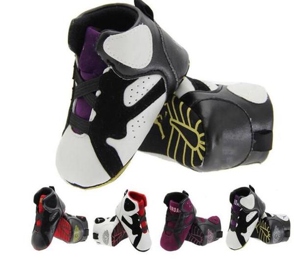 Bebek kız çocuklar mektup İlk Walkers Tasarımcı Bebekler yumuşak alt kaymaz bebek erkek Ayakkabı Marka Toddler ayakkabı 3 renkler